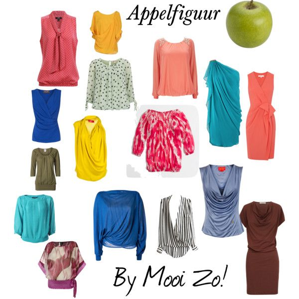 """Appelfiguur"" by mooi-zo on Polyvore"