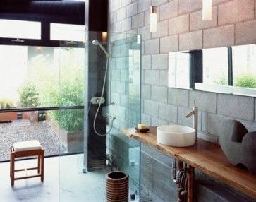cinder block walls design ideas pictures remodel and decor page 19 - Cinder Block Wall Design