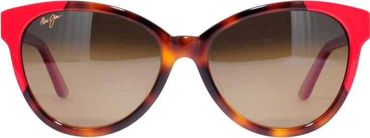 Maui Jim HS725-66 Sunshine in Tortoise with Red. HCL Bronze Lens
