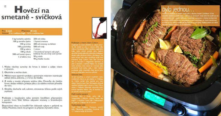 Svíčková na smetaně recept, Tefal Mijotcook SD5000