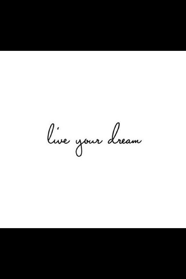 and Love your dream.. ;)