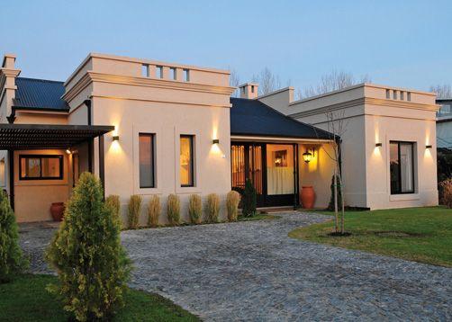 Casas modernas estilo campo