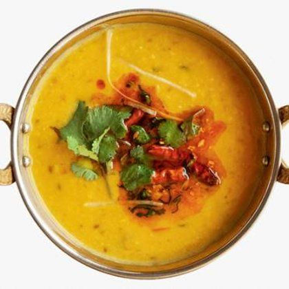 Чечевичный суп с желтком – рецепт с фото