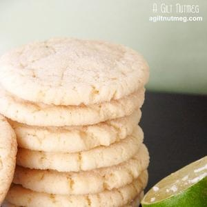 Chewy Coconut-Lime Sugar Cookies | Recipes | Pinterest | Chewy Sugar ...