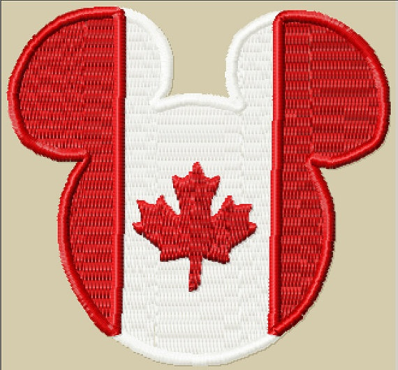 Canadian Flag Mickey Mouse Canadian Mickey Ears