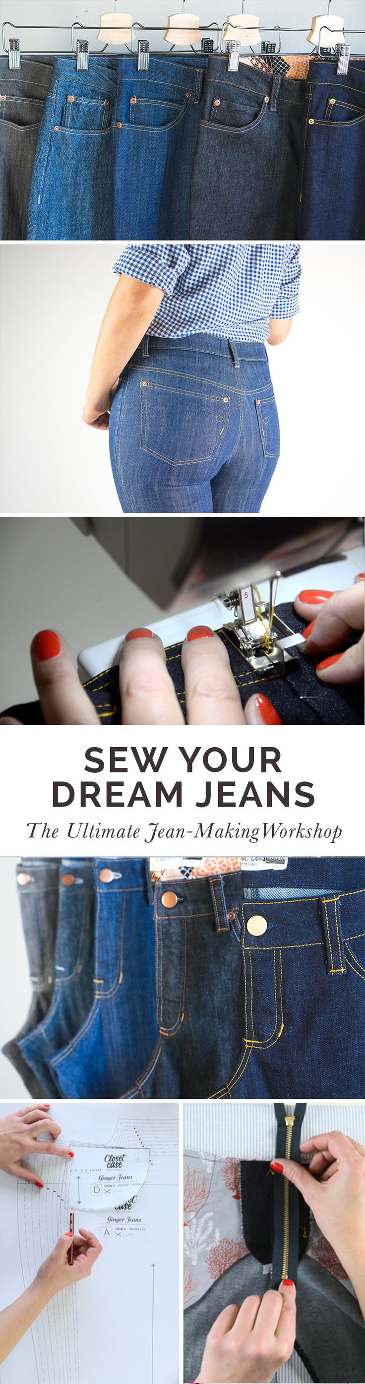 The ultimate online jean-making course! Learn to Sew Your Dream Jeans with Heather Lou of Closet Case Patterns. http://sewingworkshops.closetcasefiles.com/p/sew-your-dream-jeans/?product_id=232412&coupon_code=PRESALE&preview=logged_out&utm_source=Closet+Case+Patterns+Updates&utm_campaign=79d1d24e27-EMAIL_CAMPAIGN_2017_01_14&utm_medium=email&utm_term=0_2c862ec5e2-79d1d24e27-301881745&mc_cid=79d1d24e27&mc_eid=98937766f0