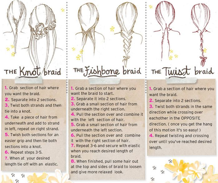 How-to braids for the fall, even though my hair is normally really short...