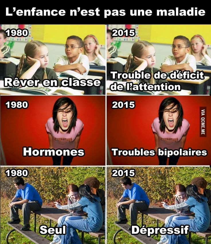 L'enfance n'est pas une maladie – Québec Meme +