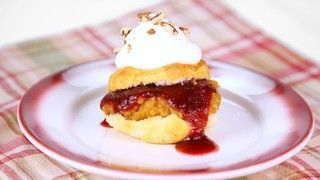 Carla Hall's Cranberry and Sweet Potato Shortcake Recipe   The Chew - ABC.com