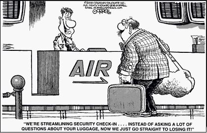 Travel Humor - it would be funnier if not so true!