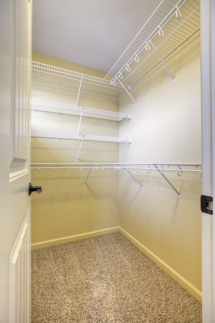 Master Closet With Wire Shelving
