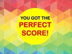 I got: Perfect Score! You have an incredible memory!! 95% Of People Can't Get The Perfect Score I...