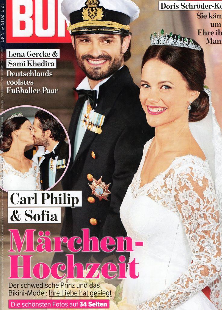 2015: Carl-Philip und Sofia von Schweden