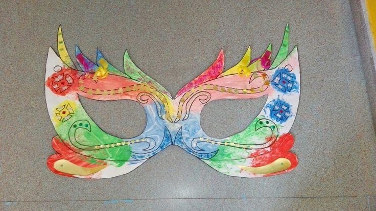 Máscara carnaval.niños