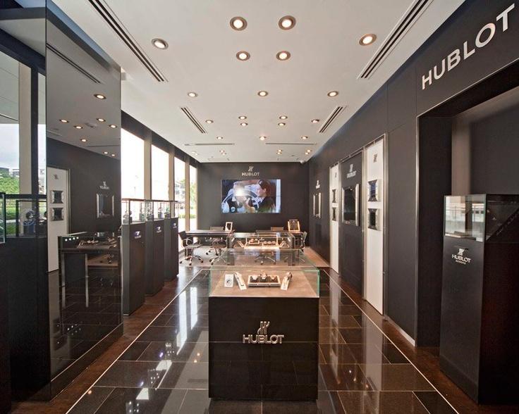 Hublot new store in Manila, Philippines
