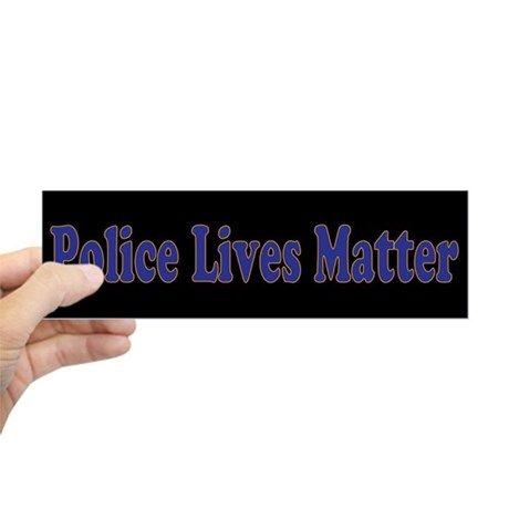 Police Lives Matter Bumper Sticker