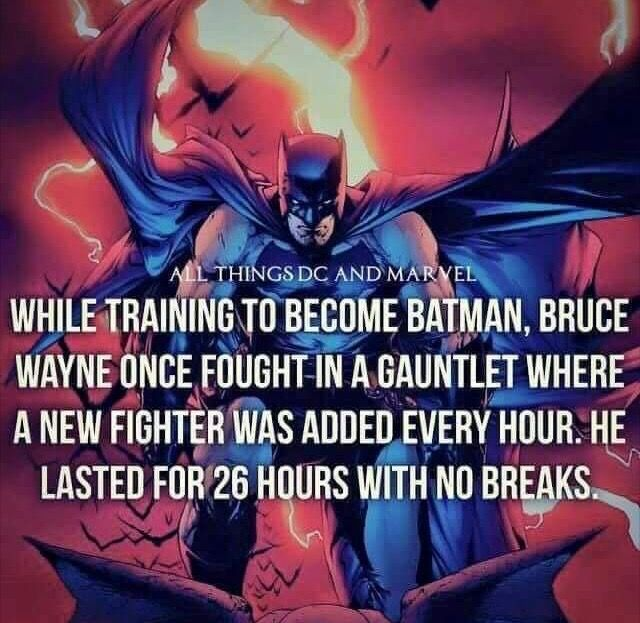 Not a huge Batman fan, but this is very impressive