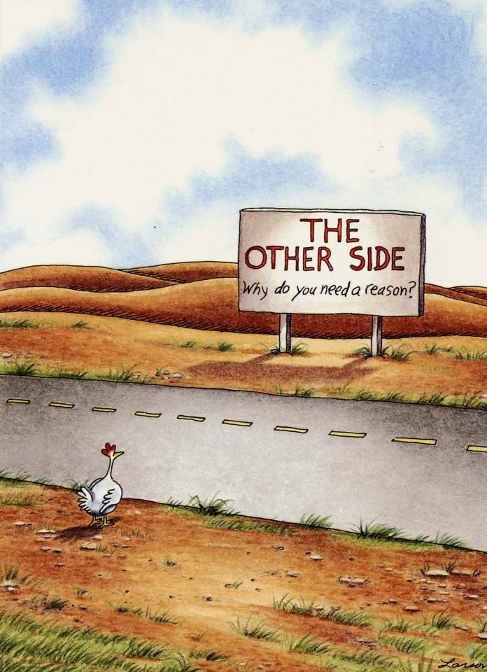 The Other Side: Why do you need a reason? ~Follow the suggested strategy on the board description.