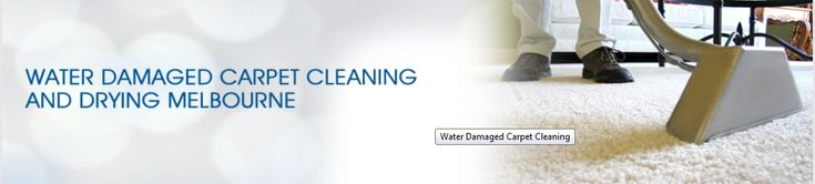 Facing the problem of water damage in Melbourne? Water damage restoration is the process of restoring a property back to pre-loss condition. For drying wet carpets cleaning services please call Capital Facility Services.