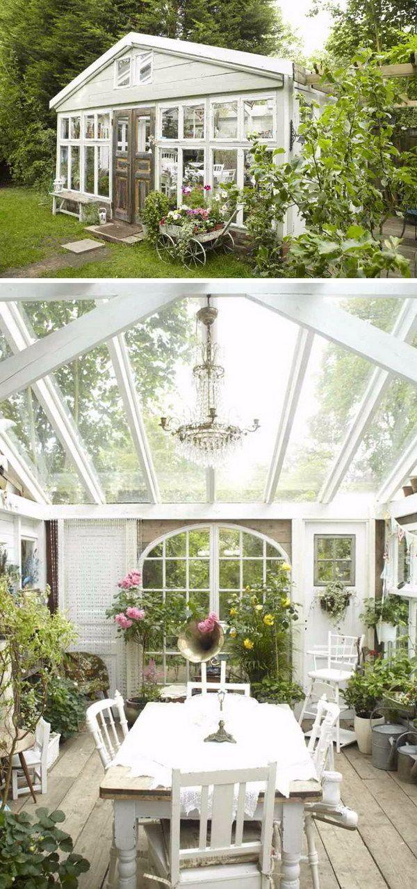 A Renovated Greenhouse.