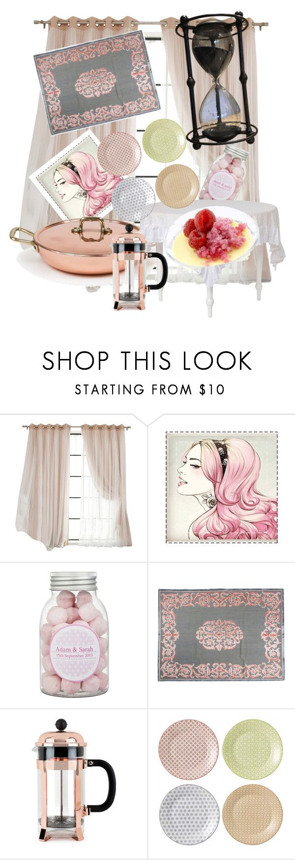 """""""Untitled #162"""" by vendys on Polyvore featuring interior, interiors, interior design, home, home decor, interior decorating, Golran and Royal Doulton"""