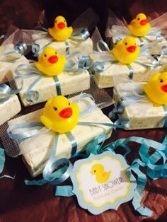 Baby Shower De Patitos
