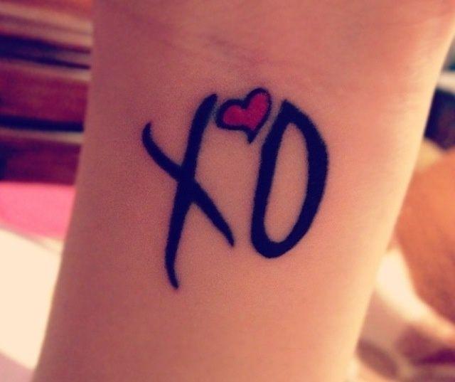 The 25+ Best Xo Tattoo Ideas On Pinterest
