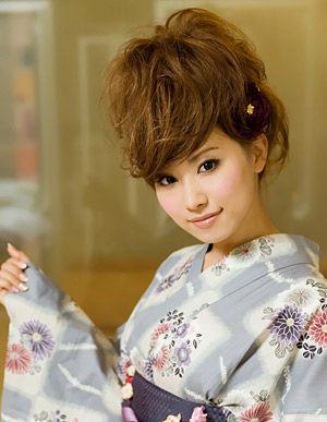 [夏へアアレンジ]ソフトリーゼント風アレンジ☆ ヘアアレンジ・髪型のカタログ hair croix かみまどヘアカタログ