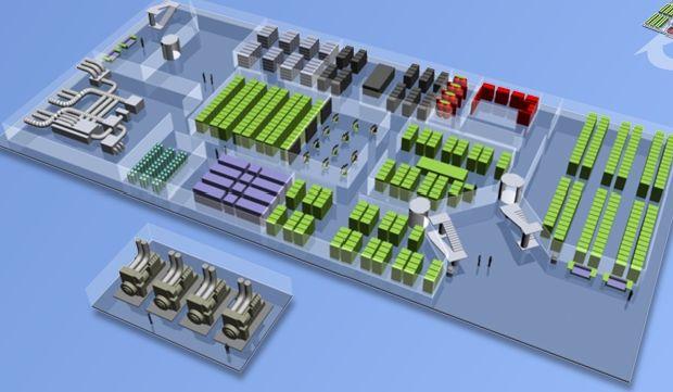 Datacenter floor plan data center pinterest for Data center floor plan
