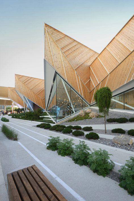 Slowenien-Pavillon an der Ausstellung