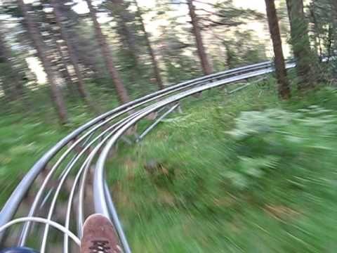 Alpine Rollercoaster, Imst, Österreich (Austria) 2009 - Sommerrodelbahn