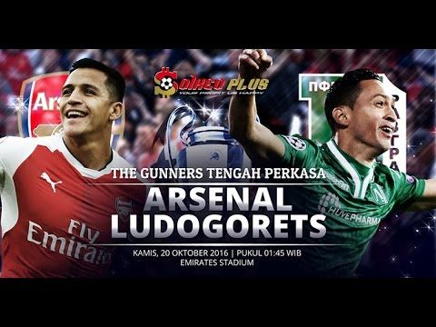 Arsenal vs Ludogorets 6-0 All Goals & Highlights  Champions League 19/10/2016  Arsenal vs Ludogorets Razgrad Highlights and Full Match Competition: UEFA Champions League Date: 19 October 2016 Stadium: Emirates Stadium (London) Referee: Artur Soares Dias -----------------------------------------   Like  Share  Comment on Video  Thanks for Watching!   Please help channel reached 100000 subscribe