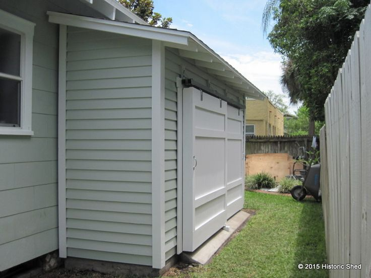 106 best images about small outdoor storage on pinterest for Side storage shed