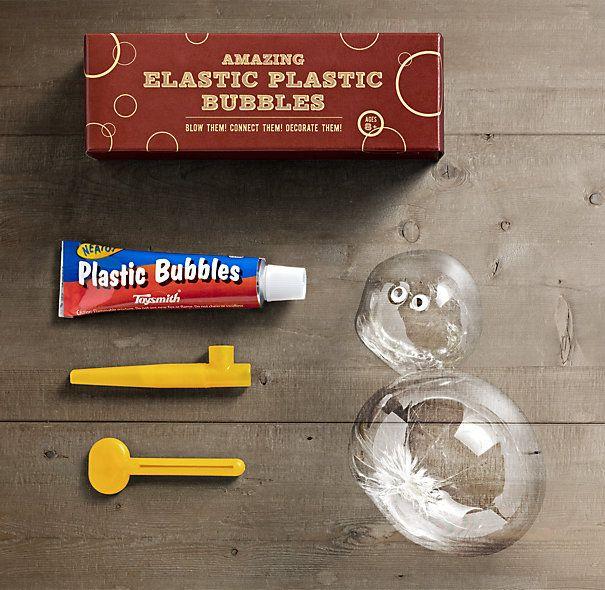 Amazing Elastic Plastic Bubbles