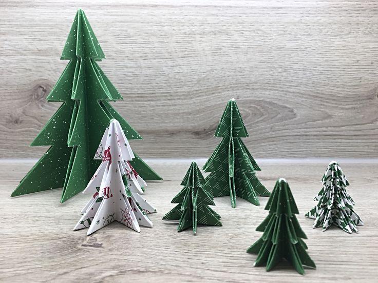 Hallo ihr Lieben :-) , heute zeige ich euch in einem Anleitungsvideo, wie ihr die schönen Tannenbäume faltet, sprich Origamibäumchen :-D . Ihr braucht dazu nur ein Stück quadratisches Papier, eine Schere und etwas…
