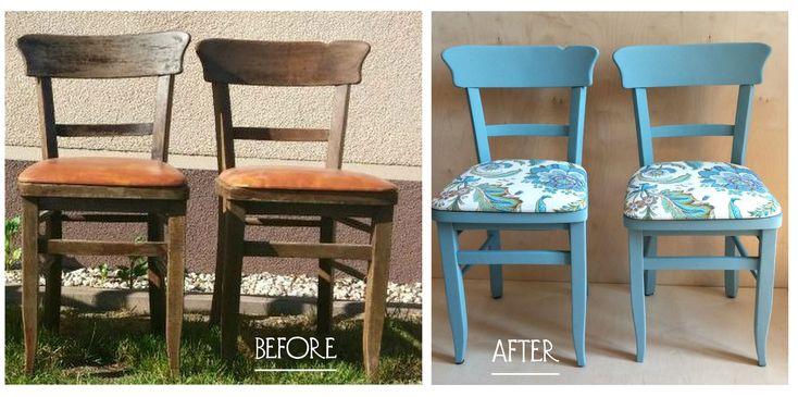 odnawianie starych krzeseł