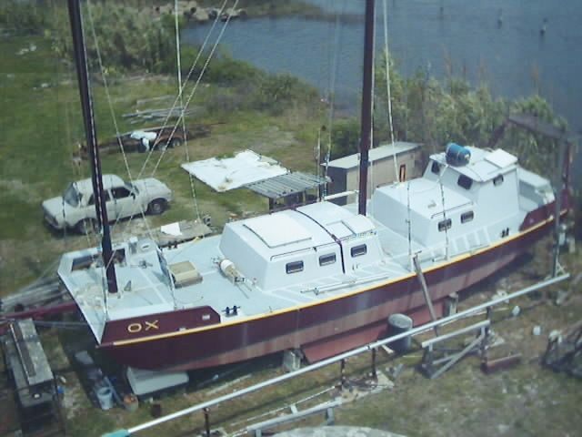 Scow Schooner Quot The Ox Quot Boat Building And Sailing