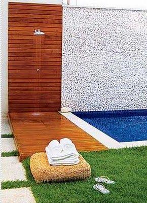 fotos de duchas con paves