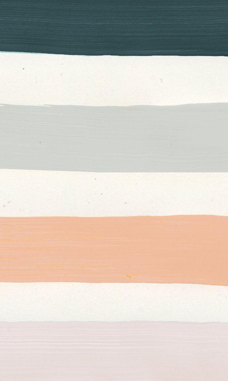 Minimal Painting, Rainbow Art, Minimalist Art Print