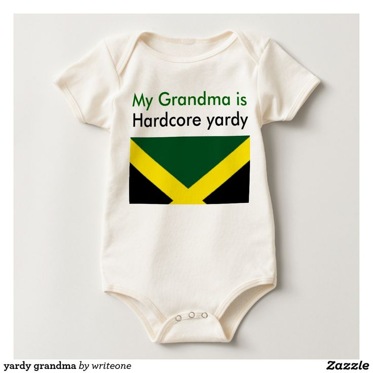 #yardy grandma baby bodysuits #yard #jamaica