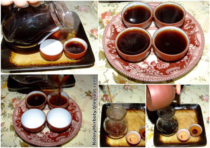 Kolory Herbaty: Pu-Erh z płatkami róży z Chin