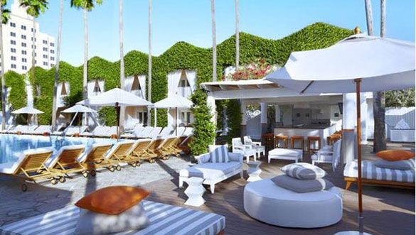 Delano Hotel Pool & Beach Club
