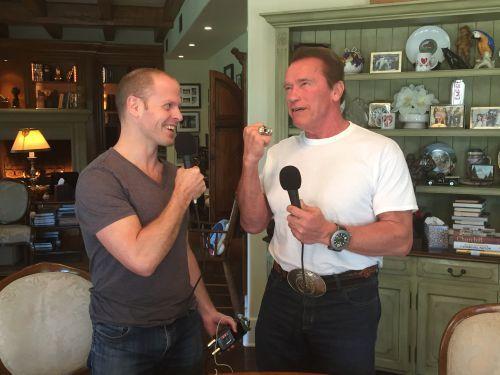 Tim Ferriss Interviews Arnold Schwarzenegger on Psychological Warfare (And Much More)