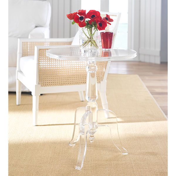 The Best Acrylic Side Table Ideas On Pinterest Metal Tv - 1311581127 red acrylic s shaped coffee table side table modern z table