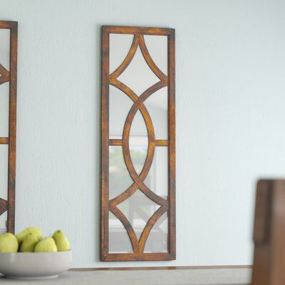 Rectangle Brown Mirror