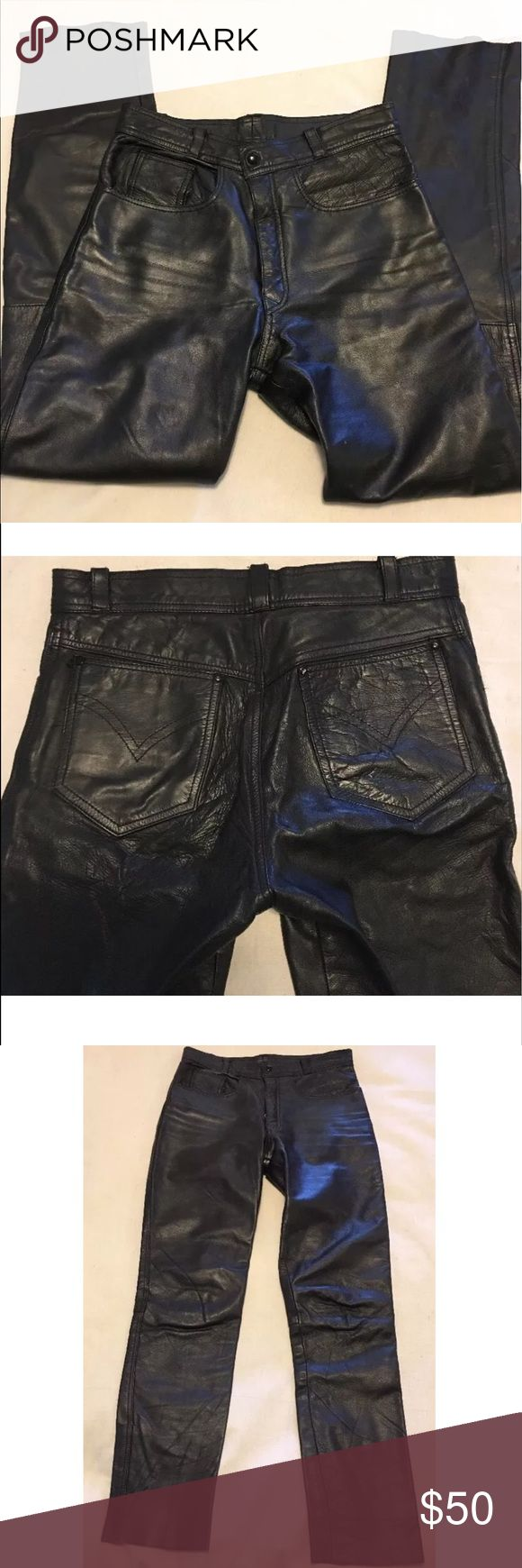Motorcycle riding leather pants size 31 post women s motorcycle riding leather pants size 31 black