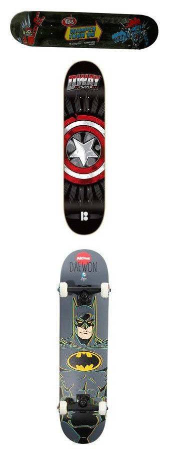 """""""Skateboards"""" by lexaguilbert ❤ liked on Polyvore featuring skateboards, accessories, home, filler, skateboard, batman and skate"""