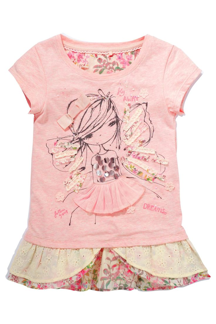 Buy Fairy Girl Layered Top (3-16yrs) from the Next UK online shop
