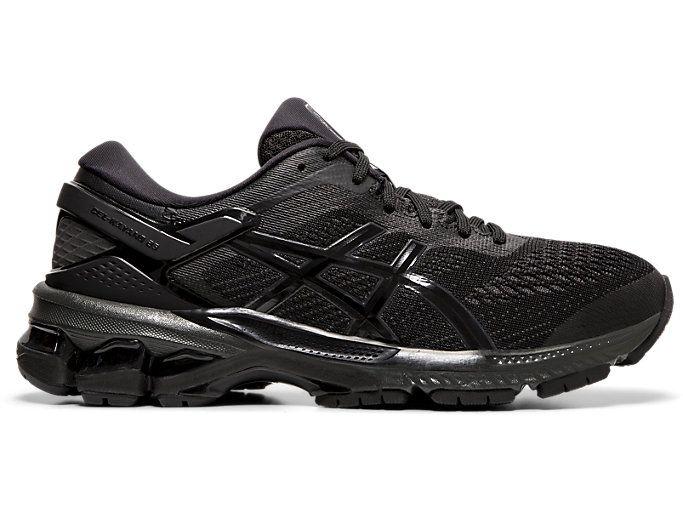 Gel kayano 26 in 2020 | Black running shoes, Running shoes
