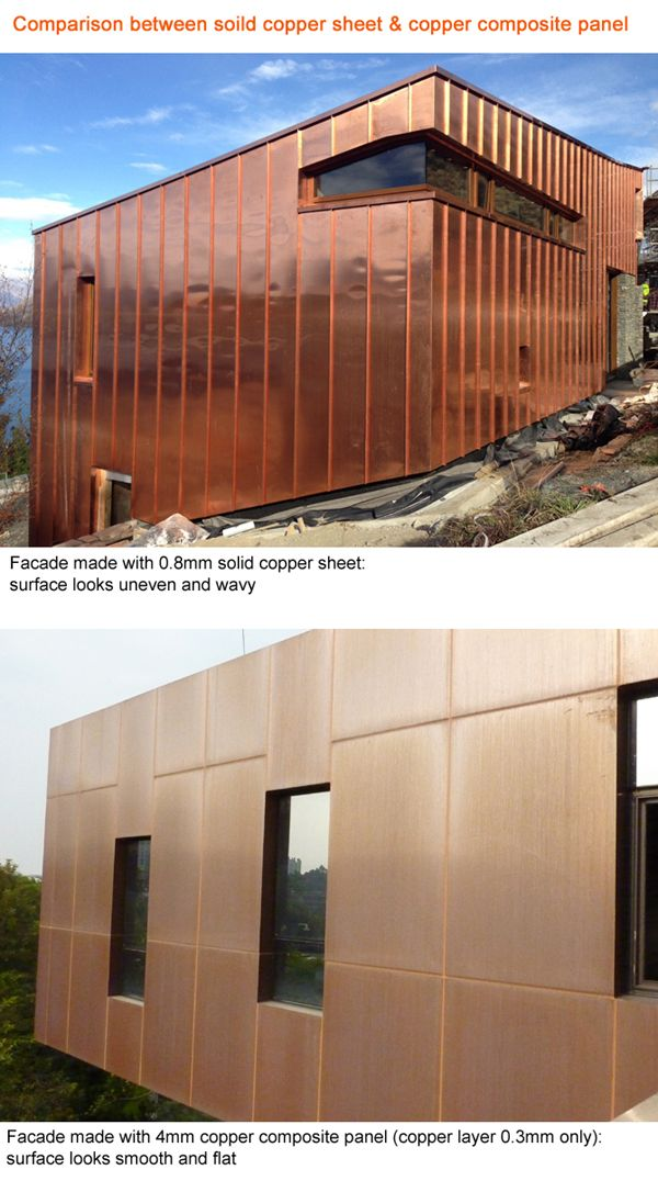 Copper Exterior Wall Cladding Panels Composite Copper Exterior Wall Cladding Copper Exterior Exterior Wall Panels Wall Cladding Panels Exterior Wall Cladding